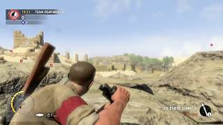 Sniper Elite 3 multiplayer team deathmatch #Ruins