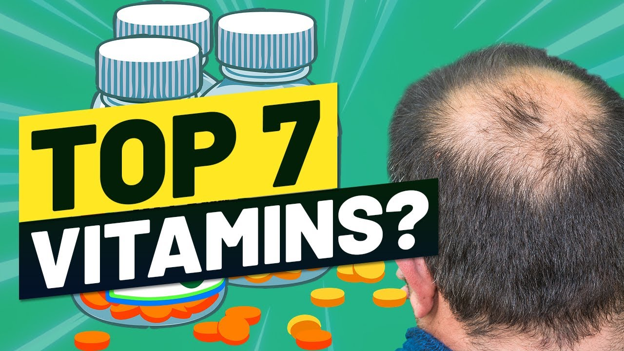 8 BEST Vitamins That Can Block DHT - (No 3 Is Awesome)