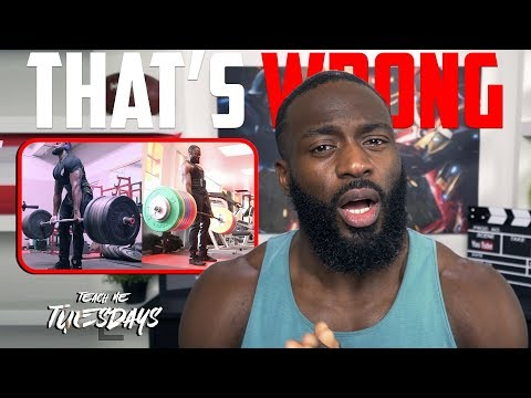 Strength & Power Training...You're doing it wrong!!! | Gabriel Sey