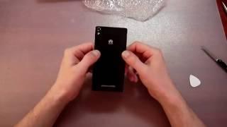 Как заменить батарейку на телефоне Huawei Ascend P6. Посылки из Китая