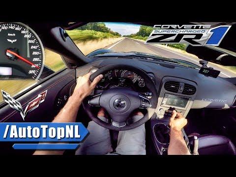 Corvette ZR1 AUTOBAHN POV ACCELERATION & SPEED by AutoTopNL