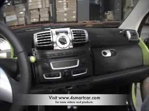 how to remove the radio in a smart car 451