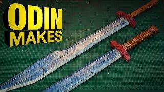 Odin Makes: Thor's Sakaarian swords from Thor: Ragnarok