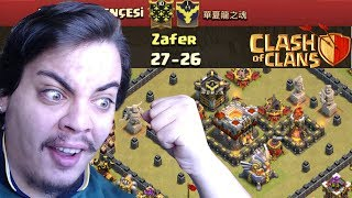 CAPONLAR Vs BARIŞ BRA Clash of Clans