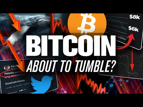 BITCOIN To 6k!😱Whale Who Called 8k Says YES! When? We Figured Out How To Tell…