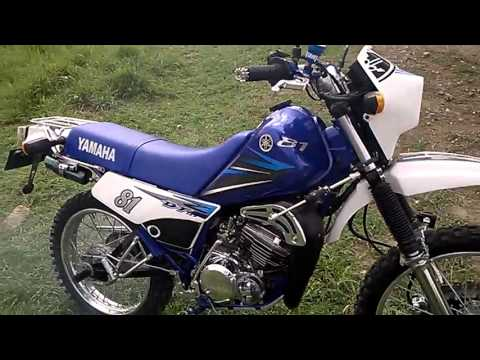 yamaha dt 125 azul modelo 2007 youtube. Black Bedroom Furniture Sets. Home Design Ideas