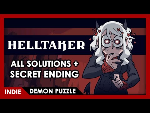 Helltaker - FULL PLAY (All solutions + Secret Ending)