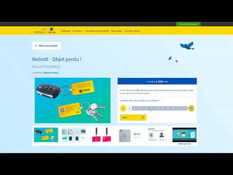 Votez Lafabrique France Aviva Nolostt - Objet Perdu !