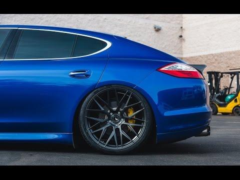 Vorsteiner Vf107 22inch Wheels On Porsche Panamera Youtube