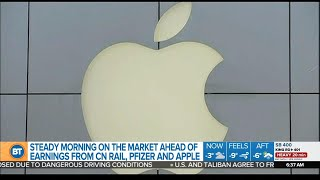 Gambar cover Quarterly earnings expected from Apple
