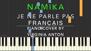 Namika Je ne parle pas français Piano Tutorial Instrumental Cover