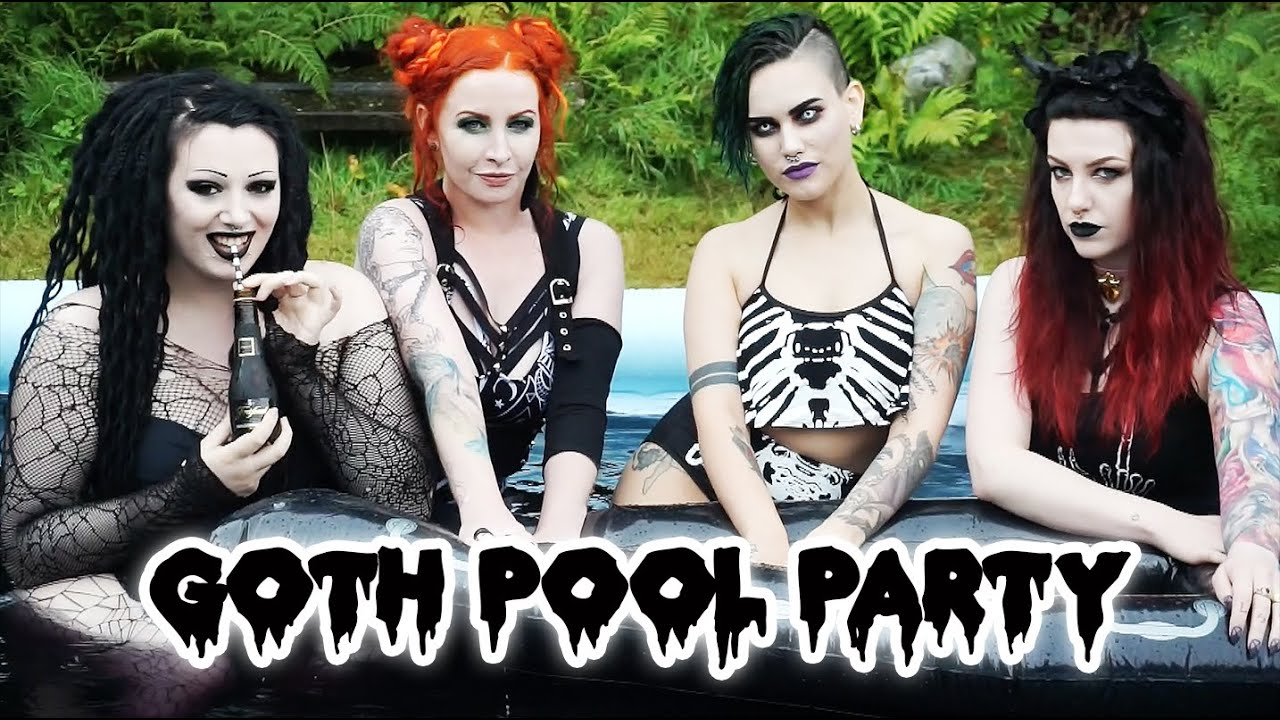 Goth Pool Party 10 Black Bath Bombs Toxic Tears Youtube