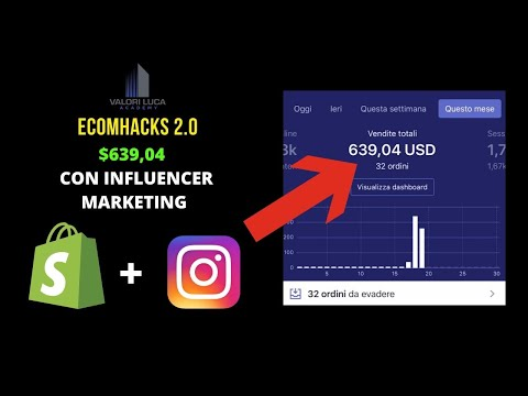 COME HO FATTO $639,04  SENZA  FACEBOOK ADS [ INFLUENCER MARKETING ] DROPSHIPPING thumbnail