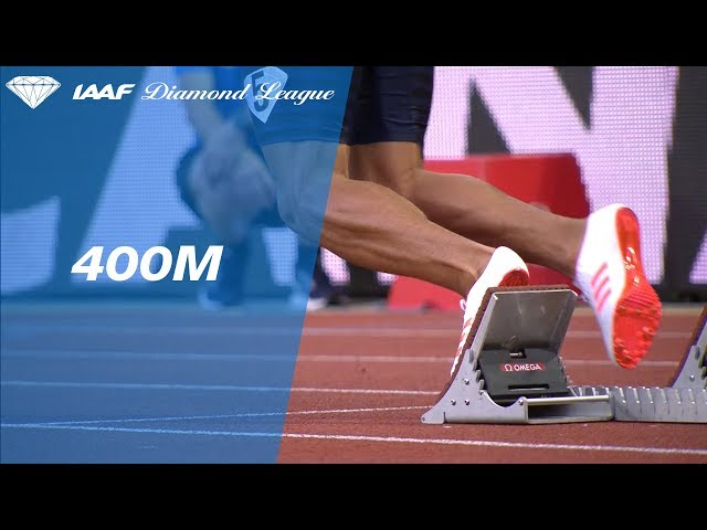 Wayde van Niekerk 43.73 vs Isaac Makwala 43.84 - IAAF Diamond League Monaco 2017