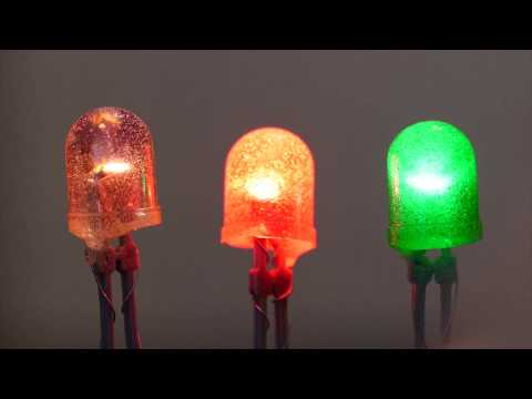 Glowing LED Gummy Candy // Becky Stern