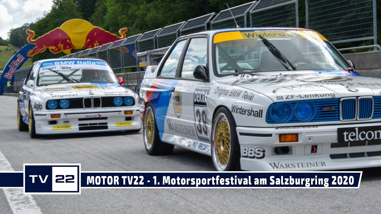 MOTOR TV22: Muzzi Motorsport beim 1. Motorsportfestival am Salzburgring