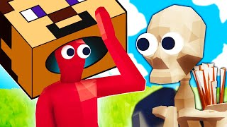 TABS - Minecraft Hardcore Mode Is a NIGHTMARE!! - Totally Accurate Battle Simulator Thumb
