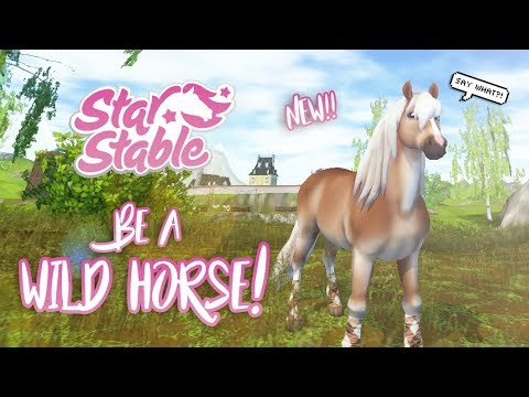 Be a WILD horse! #GoWild | Star Stable Updates