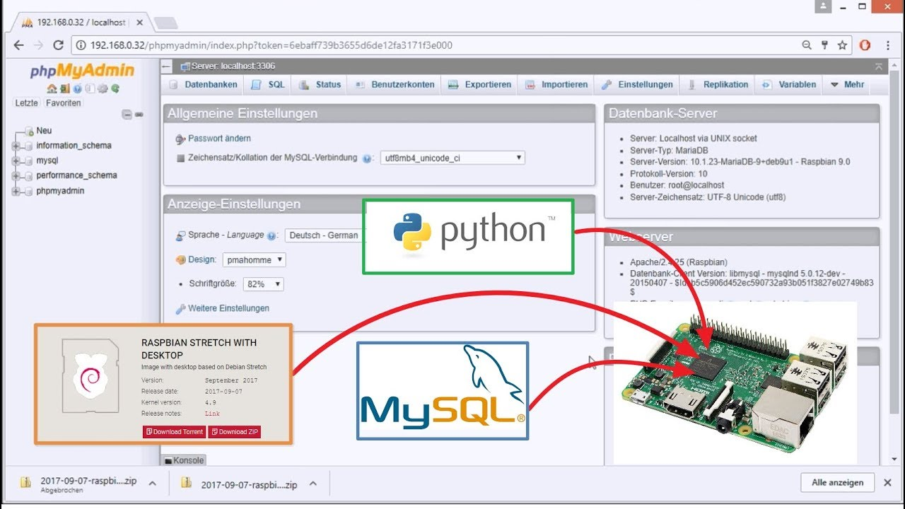 MySQL Part #2 - Create a database and use it with Python