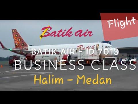 Batik Air ID 7013 Jakarta (HLP) - Medan (KNO) | Business Class Flight Experience - No Turbulence