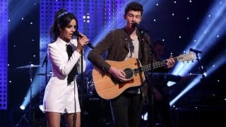 Repeat youtube video Shawn Mendes & Camila Cabello Perform 'I Know What You Did Last Summer'
