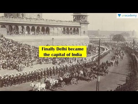 Delhi replaced Calcutta as capital today - Daily Trivia