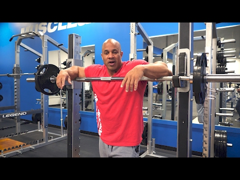Shoulder Workout Tips & Safety Advice From Victor Martinez