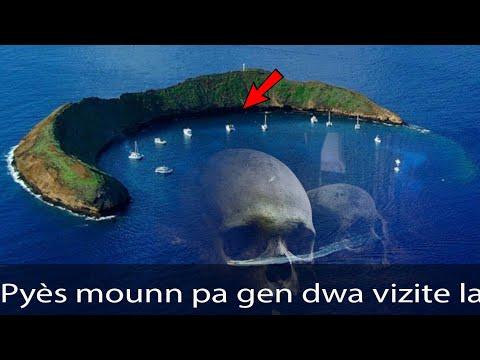 7 kote nan mond lan ki entèdi Pou mounn vizite