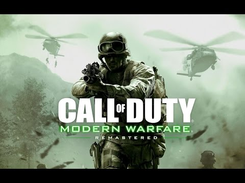 Call of Duty Modern Warfare REMASTERED Pelicula Completa Español - PC ULTRA (2K 60fps)