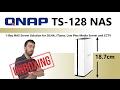 Vídeo: QNAP TS-128 1 BAY 1.1GHZ DC 1XGBE 1X USB 3.0 1X USB 2.0