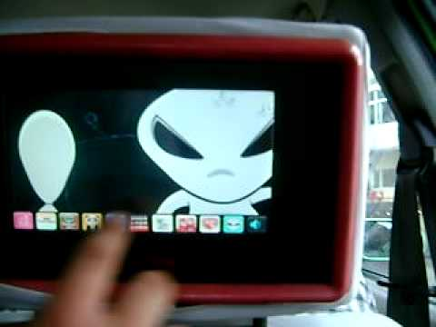 touchscreen in a shanghai cab