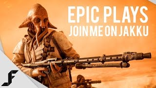 EPIC PLAYS - Join me in London! Star Wars Battlefront #Ad