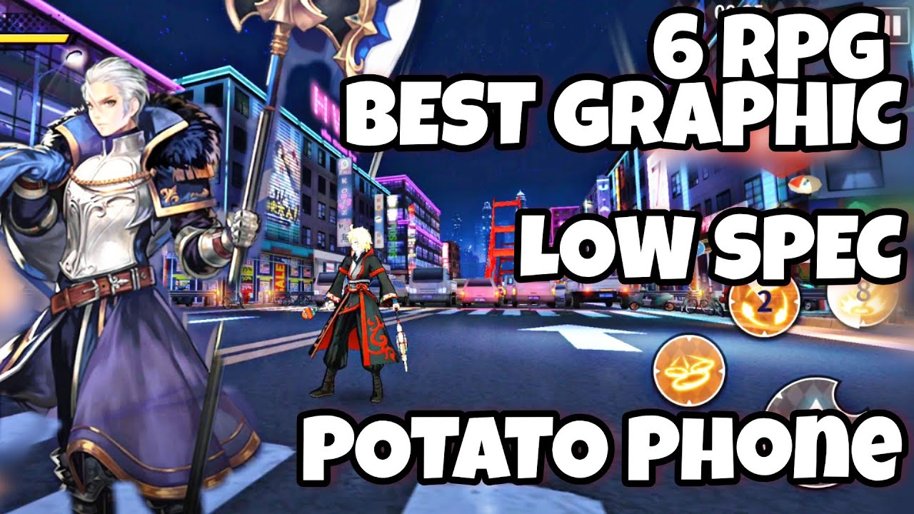 Top 6 RPG | BEST GRAPHIC | LOW SPEC | for POTATO Phone | ENGLISH (Android/IOS )
