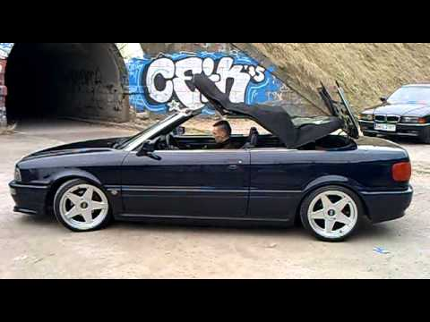audi 80 cabrio youtube. Black Bedroom Furniture Sets. Home Design Ideas
