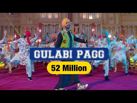 Diljit Dosanjh | Gulabi Pagg (Official Video) | Neha Sharma