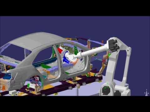 Helix Robotic Measurement Station Simulation