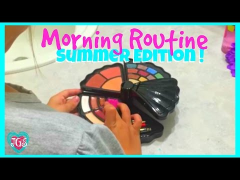 Morning Routine For Summer | Hope's Routine on a Summer Morning | best friends