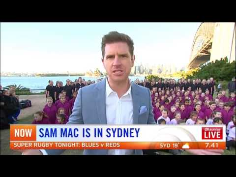 Australian Girls Choir (AGC) on Channel 7 Sunrise TV 2 June 2017