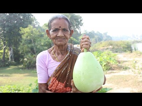 How To Cook Bottle Gourd Recipe In Village Style || Myna Street Food || Food Info