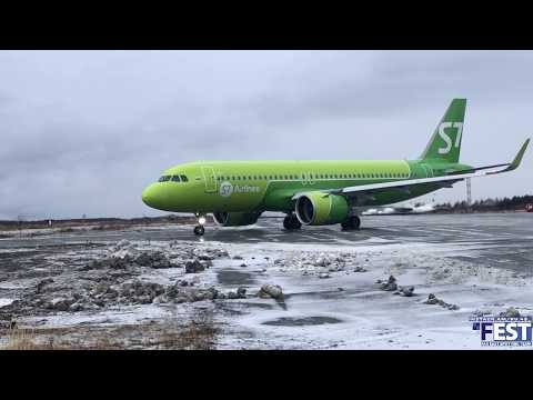 S7 Airlines/A320Neo/Магадан