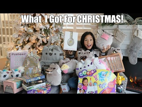 🎅🏻WHAT I GOT FOR CHRISTMAS 2017!!!