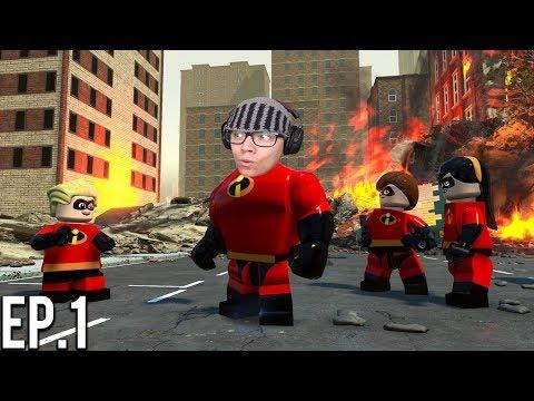 OS NOVOS INCRÍVEIS - LEGO® The Incredibles ( Parte 1 ) thumbnail