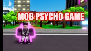 HOW TO LEVEL UP CRAZY FAST IN THIS GAME || Roblox Mob Psycho Psychic Burst