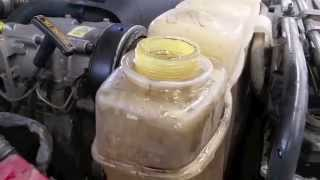 Flushing a cooling system thats contaminated with oil, diesel or gas