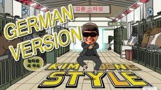 Repeat youtube video KIM JONG STYLE (German) Gangnam Style Parodie [barelypolitical Tribute]