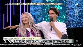 George Burcea și Andreea Bălan, test de cuplu! Cei doi răspund la mai multe întrebări incomode