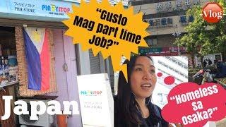 OSAKA JAPAN | Pinoy store in Osaka Japan | day off? | JAPAN | Japan Vlog