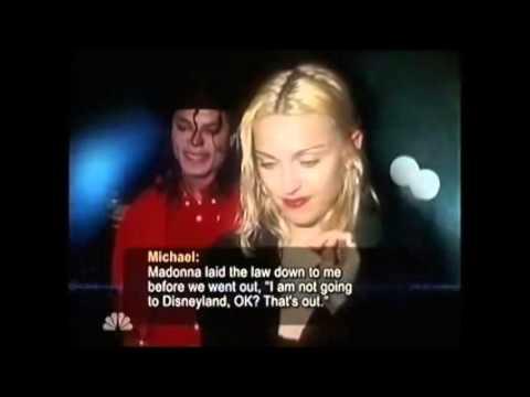 Michael Jackson speaks about Madonna (HQ)