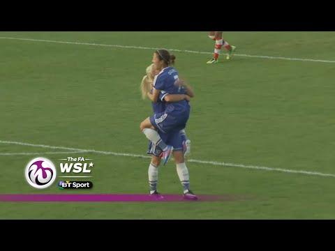 Chelsea 21 Arsenal  FA WSL  Goals & Highlights
