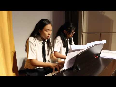 MRSC2015 - Command Performance ~ Piano Duet by Heritage Learning Center